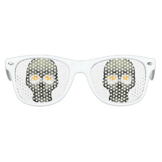 Skull with Fried Egg Eyes Kids Sunglasses