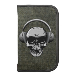 Skull with Headphones & Sunglasses Planners