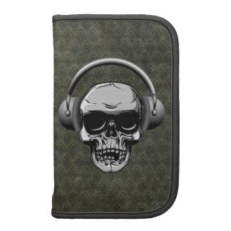 Skull with Headphones & Sunglasses Planners