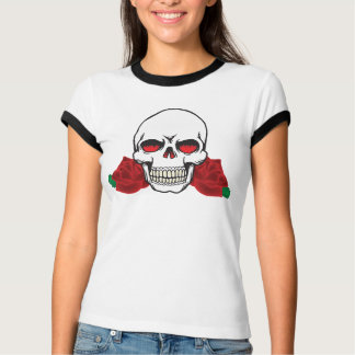 Skull with Roses Tattoo  Design Customizable Shirt