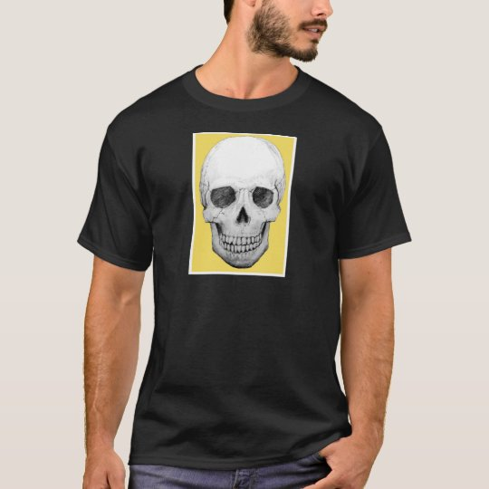 Skull with Yellow T-Shirt