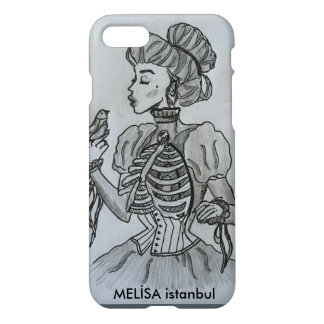 Skull Woman iPhone 7 Case