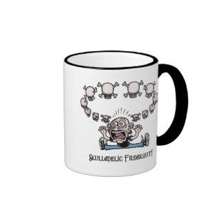 Skulladelic Freakout! Coffee Mug