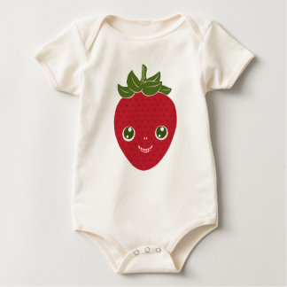Skullberry, Sweet Strawberry That Has Gone Rogue Baby Bodysuit