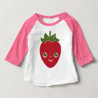 Skullberry, Sweet Strawberry That Has Gone Rogue Baby T-Shirt