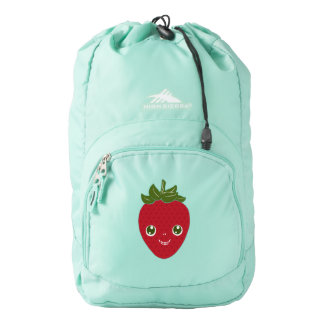 Skullberry, Sweet Strawberry That Has Gone Rogue Backpack
