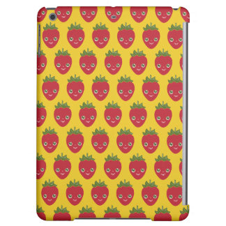 Skullberry, Sweet Strawberry That Has Gone Rogue Case For iPad Air
