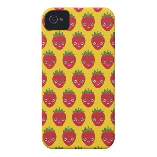 Skullberry, Sweet Strawberry That Has Gone Rogue iPhone 4 Covers