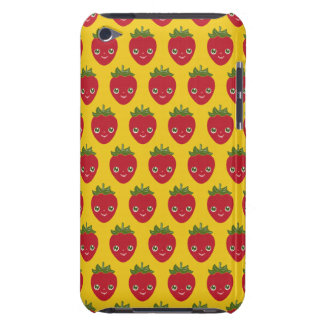 Skullberry, Sweet Strawberry That Has Gone Rogue iPod Case-Mate Cases