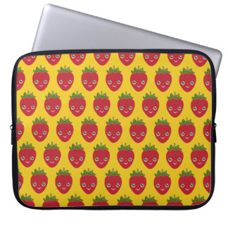 Skullberry, Sweet Strawberry That Has Gone Rogue Laptop Computer Sleeve