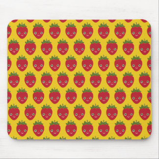 Skullberry, Sweet Strawberry That Has Gone Rogue Mouse Pad