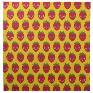 Skullberry, Sweet Strawberry That Has Gone Rogue Napkin