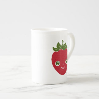 Skullberry, Sweet Strawberry That Has Gone Rogue Tea Cup