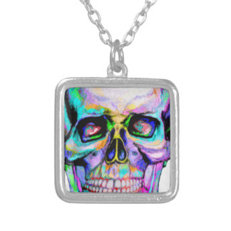 Skullerful Silver Plated Necklace