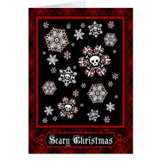 Skullflakes Card