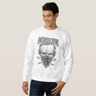 SkullHead Black Sweatshirt