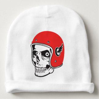 ☞ Skullracer motorcycle helmet Baby Beanie