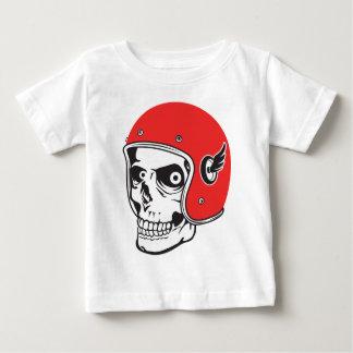 ☞ Skullracer motorcycle helmet Baby T-Shirt