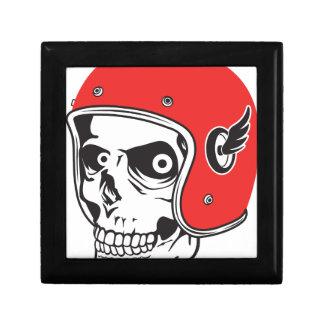 ☞ Skullracer motorcycle helmet Gift Box