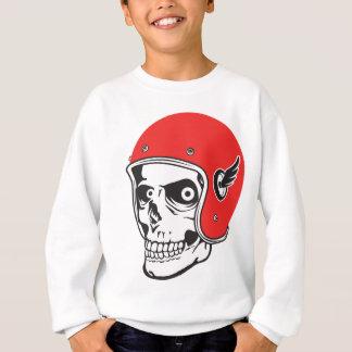 ☞ Skullracer motorcycle helmet Sweatshirt