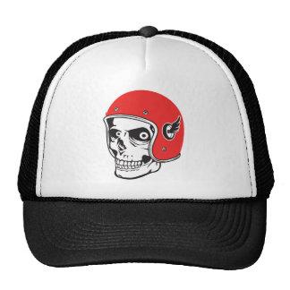 ☞ Skullracer motorcycle helmet Trucker Hat