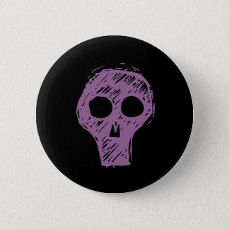 Skulls 2 Inch Round Button