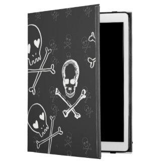 skulls and crossbones black