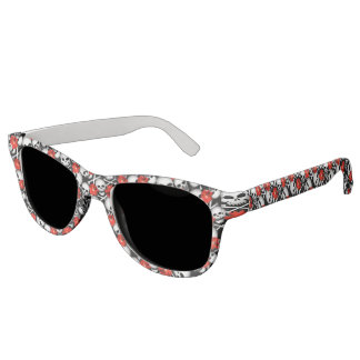 Skulls and flowers sunglasses