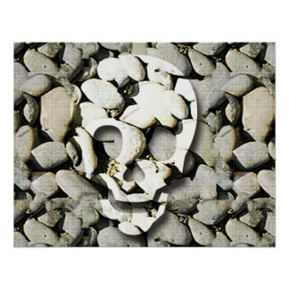 Skulls and Stones Poster