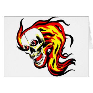 Skulls and Tikis Card
