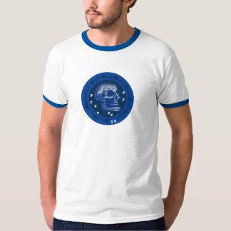 Skulls Blue & White 2 T-Shirt