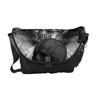 skulls commuter bags