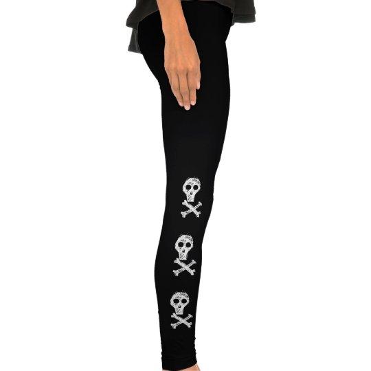 Skulls & Crossbones Leggings! Legging Tights