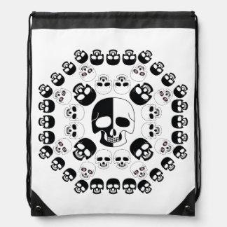 Skulls Drawstring Bag