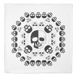 Skulls Duvet Cover