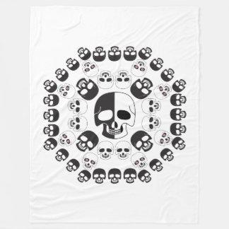 Skulls Fleece Blanket