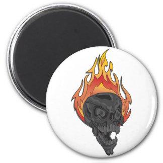 Skulls-for-Cafe-Press3 2 Inch Round Magnet