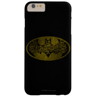 Skulls in Bat Symbol iPhone 6 Plus Case