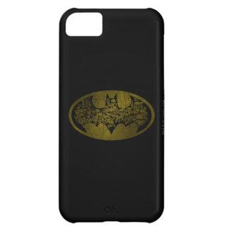 Skulls in Bat Symbol iPhone 5C Covers