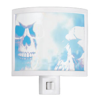 Skulls in the Clouds Night Light