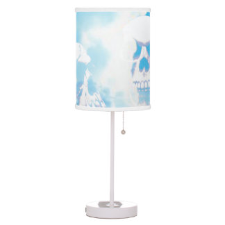 Skulls in the Clouds Table Lamp
