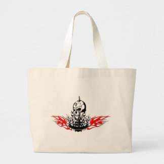Skulls Large Tote Bag