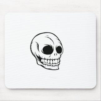 Skulls laugh last mouse pad