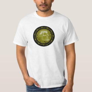 Skulls Negative Black & Yellow T-Shirt