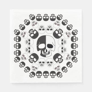 Skulls Paper Napkin