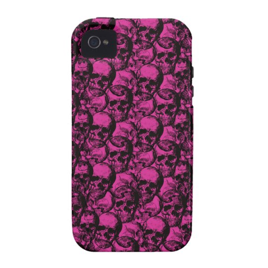 Skulls pattern Case-Mate iPhone 4 case