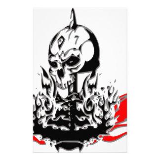 Skulls Stationery