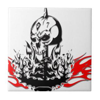 Skulls Tile