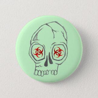 SkullSick 2 Inch Round Button