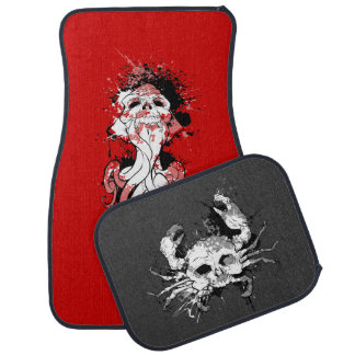 SkullSquid & SkullCrab Car Mat Set